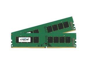 Crucial CT2K4G4DFS824A 8Gb Kit 2X4Gb Pc4-19200 Ddr4 288Pin Udimm N-Ecc Unbuff Srx8 1.2V