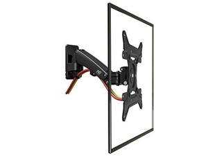 North Bayou Universal Full Motion Articulating Gas Spring Wall Monitor TV Mount F200 for LED, LCD, Flat Panel Screens 30'' - 40 inch 11 up to 22 lbs