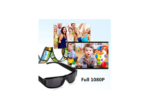 Oumeiou HD 1080P Digital Video Spy Camera Glasses Hidden Camera Sunglasses DVR Video Recorder Eyewear with 32GB TF Card