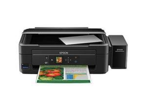 Epson EcoTank L455 Inkjet Multifunction Printer - Color - Photo Print - Desktop