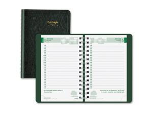 "Daily Planner Telephone/Address Section 8""x5"" Green"
