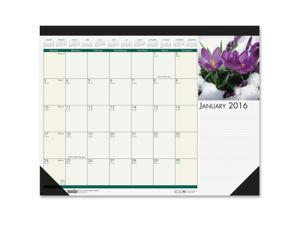 """House of Doolittle EarthScapes Flowers 18-1/2"""" Desk Pad"""