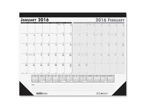 """House of Doolittle Two-month 22"""" Desk Pad"""