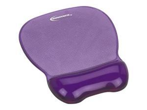 Innovera IVR51440 Purple Gel Mouse Pad and Wrist Rest