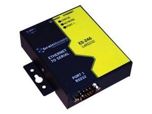 Brainboxes ES-246 1 Port RS232 Ethernet to Serial Adapter