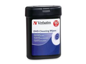 Verbatim DVD/CD Cleaning Wipes - 50pk
