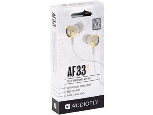 Audiofly AF33 Corset White (w/Microphone)