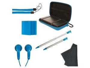 dreamGEAR Starter Kit 11-In-1 In Blue For 3DS