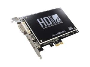 AverMedia - C129 - AVerMedia DarkCrystal HD Capture SDK Duo C129 - Functions: Video Capturing - PCI Express 2.0 x1 -