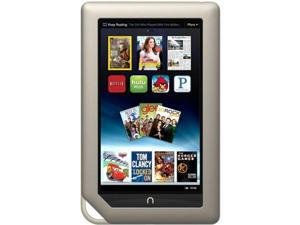 "Barnes & Noble NOOK BNTV250A 8 GB Tablet - 7"" - In-plane Switching (IPS) Technology, VividView - Wireless LAN - Texas Instruments OMAP 4 OMAP4430 Dual-core (2 Core) 1 GHz - Titanium"