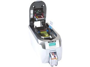 Ultra Electronics 3652-0002 Thermal 300 dpi Magicard Rio Pro ID card printer with magnetic stripe encoder.
