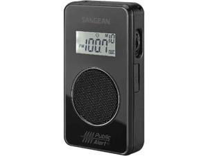 Sangean AM FM Auto Trackg Pocket Radio DT-500W