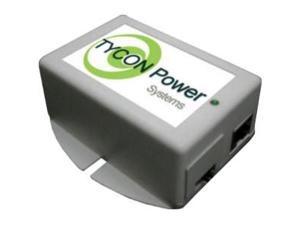Tycon TP-POE-1224G 48V 802.3af/at Gigabit POE IN, 12/24VDC 24W Gigabit POE OUT POE Inserter