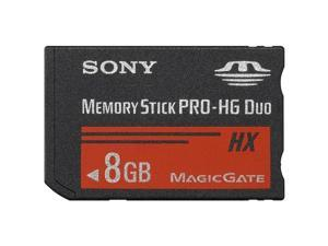 SONY 8GB Memory Stick PRO-HG Duo Flash Card Model MSHX8A