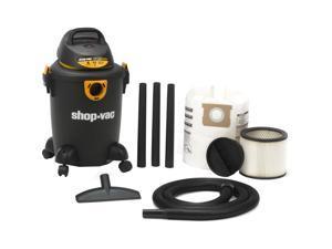 6-Gallon Quiet Deluxe Wet and Dry Vacuum Cleaner - Black Shop Vac 5983000