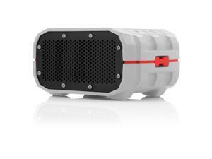 Braven BRV-1 Speaker System - 6 W RMS - Portable - Battery Rechargeable - Wireless Speaker(s) - Gray, Red, Black