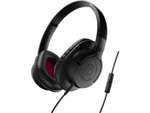 Audio-Technica SonicFuel Headphone + Smartphone Controls AX1iSBK