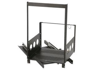 Raxxess 12U Pull-Out and Rotating Rack