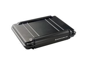 Pelican Black 1080CC HardBack Case with Computer Case Liner Model 1080-003-110
