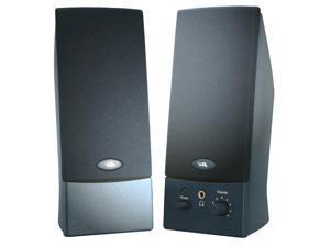 Cyber Acoustics CA-2016 2.0 Speaker System - 3 W RMS - Black