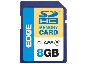 EDGE Tech 8GB Digital Media Secure Digital High Capacity (SDHC) Card Class - 6