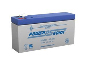 Power-Sonic Rechargeable Sealed Lead Acid Battery