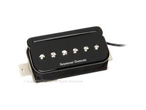 Seymour Duncan SHPR-1 P-Rails Humbucker Guitar Pickup Set, Black
