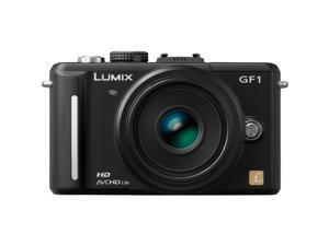 Panasonic LUMIX DMC-GF1 Black 12.1  Digital SLR Camera w/ 14-45mm f/3.5-5.6 Micro Four Thirds Lens