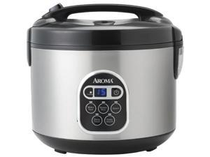 Aroma 20-Cup Digital Rice Cooker & Food Steamer