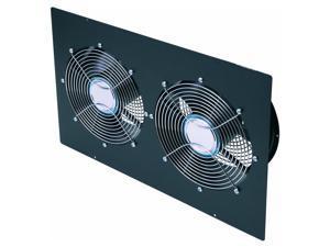 Belkin RK5006 Enclosure Top Panel with 2 10 inch Fans Black