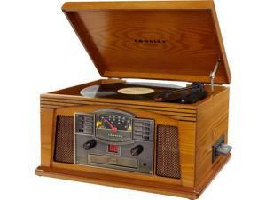 Crosley COYCR42COAB Crosley Radio Lancaster Musician Entertainment Center