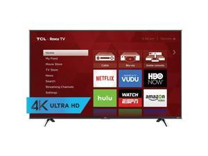 TCL 55UP130 55 Inch Premium 4K UHD 120Hz Smart LED Roku TV