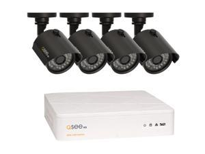 Q-See 8 Channel AHD Surveillance DVR w/ 1TB HDD and 4 x 720P Day / Night In / Outdoor Security Cameras (QTH8-4Z3-1)