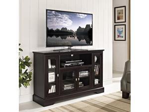 Espresso Highboy TV stand