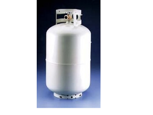 Manchester Tank Lp Cylinder 30# Bulk White With Out 1160TC.10