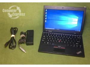 """Lenovo ThinkPad X120e 11.6"""" Netbook - AMD Fusion E-240@1.5GHz, 2GB DDR3 RAM, 320GB HDD, Windows 10 (32-bit)"""