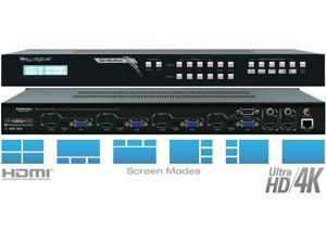 Key Digital KD-MLV4x2 4x2 I/O Ultra HD/4K MultiView Seamless Matrix Switcher