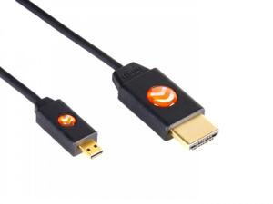Atlona AT-LCM-6 LinkConnect High Speed Micro HDMI to HDMI Cable w/Ethernet 6ft