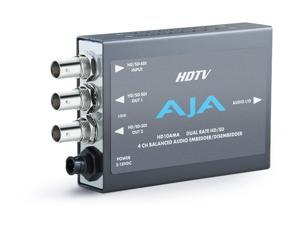 AJA HD10AMA Dual Rate HD-SDI/SDI 4-Channel Analog Audio Embedder/Disembedder