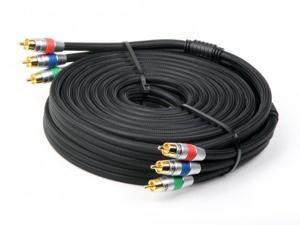 Atlona 5m 15ft Component Video HDTV RGB YUV Cable 1080P RG6 Double Shielded