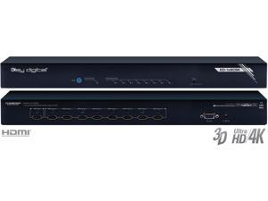 Key Digital KD-1x8CSK 1x8 I/O Ultra HD/4K HDMI Distribution Amplifier