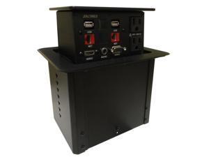 Altinex PNP408 POP N PLUG HYBRID w/2 SIDED HDMI VGA AUDIO RJ45 & POWER