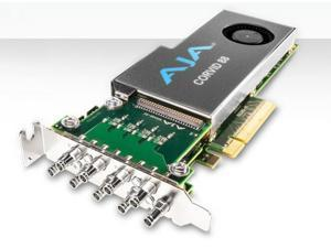 AJA Corvid 88-S Low-profile 8-lane PCIe 2.0 card w 8 I/O