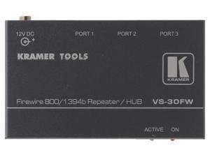 Kramer VS-30FW 3-Port FireWire 800 Repeater/HUB