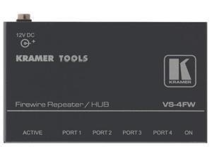 Kramer VS-4FW 4-Port FireWire Repeater/HUB