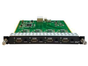 4 Output HDMI with audio de-embedder DXM Card