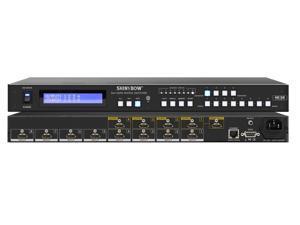 8x4 HDMI UHD 4K2K Matrix Switcher w Full EDID Management