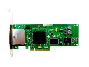 LSI SAS3801E - Storage Controller - SATA 3Gb/s / SAS - PCIe x8