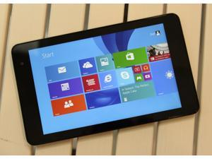 """Dell Venue 8 Pro 3845 Black Tablet 8"""" Intel Atom Z3735G 1.33GHz, 1GB, 32GB HDD, Minor scuffs/scratches on exterior surfaces, Windows 10 x86_32 - 6MPHT22 - Tablet Only"""