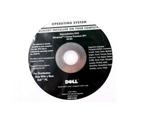 Windows 7 Home Premium SP1 64-bit Operating System work with dell only - No COA Included